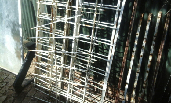 Steel fencing/Security Sections