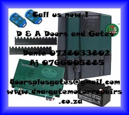 Garage door and Gate motor Service&Repairs