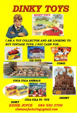 DINKY TOYS WANTED!!