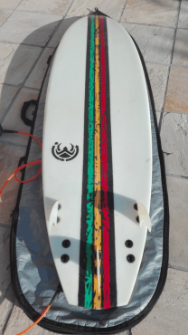 6 6 Surfboard Custom Shaped And In Good Condition Junk Mail