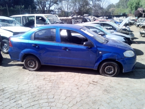 Chevrolet Aveo 2010 Stripping For All Interior And Exterior Parts
