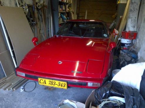 Mazda RX7 1981   Ferrari Red