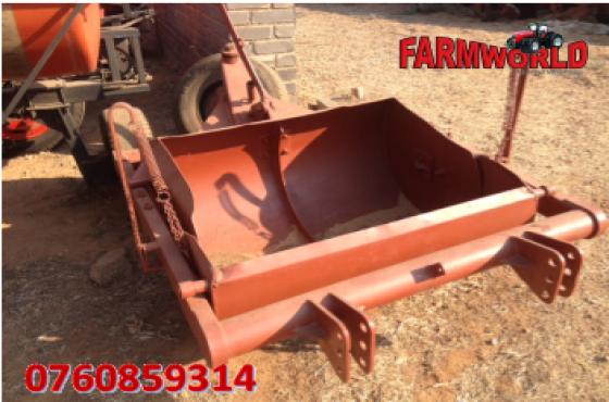 S2553 Brown Unknown Make Dam Scoop / Dam Skrop Pre-Owned Implement