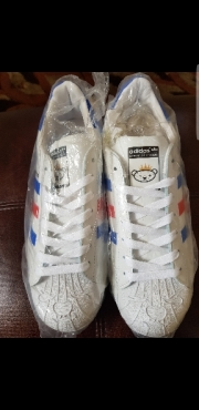 Adidas Superstar white size 8 and 9