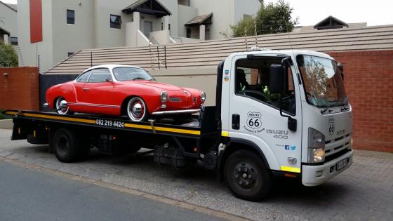 Nelspruit to Pretoria. Classic Car Transport.