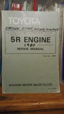 toyota 5r crown stout dyna coaster stallion repair manual rh junkmail co za toyota 5r service manual toyota 5r engine repair manual pdf