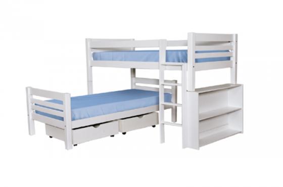 BUNK BEDS, TRIBUNKS, L-SHAPE BUNKS, PINE BEDS