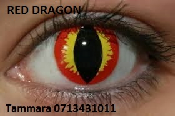 COSMETIC COLOUR CONTACT LENSES AND HALLOWEEN LENSES