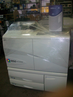 RISO HC-5000 Color PRINTER...SOLD AS IS