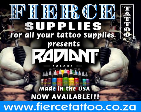 USA Tattoo ink - Radiant Colors - 1oz - 30ml