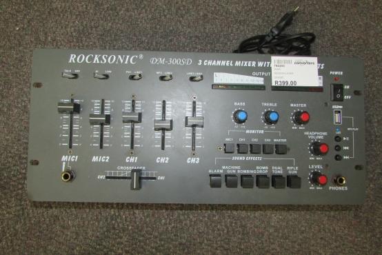 Rocksonic Mixer