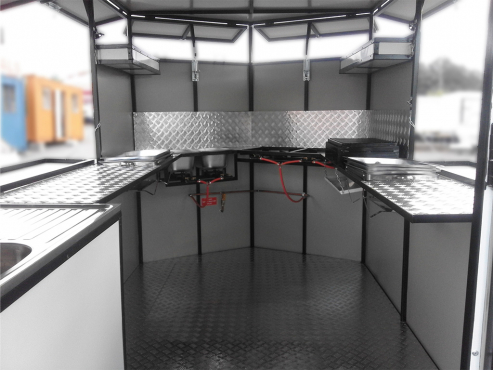 Brand new fast food trailers for sale