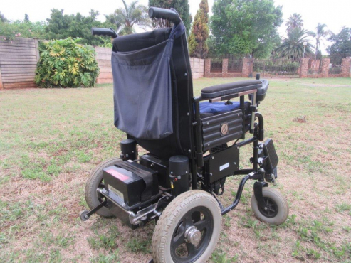 CE Power wheelchair, motors, control boxes, joysticks and 2x batteries wheelchair