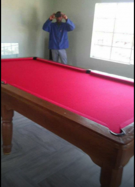 Pool table services offered in Gauteng