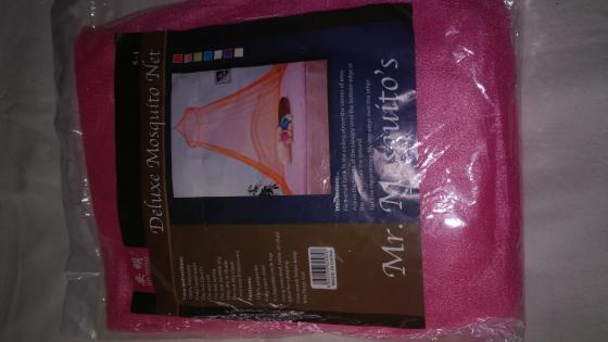 Deluxe Mosquito Net Pink