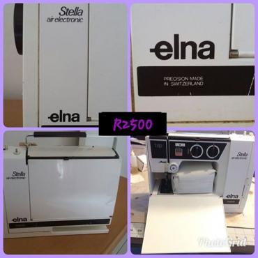 Elna machine in Leisure in Gauteng Junk Mail New Elna Sewing Machine For Sale