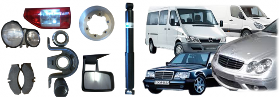 MERCEDES-BENZS SPRINTER BUSES  SPARE PARTS