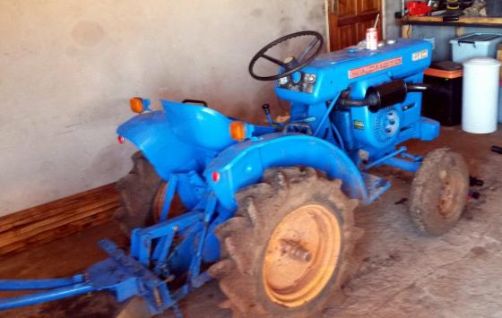 Hino Mito Mb 1500 tractor and rotivator