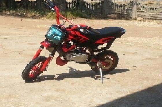 50cc pocket bike like new R3200neg