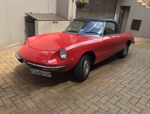 Alfa Spider Model Junk Mail - Alfa romeo spider 1974 for sale