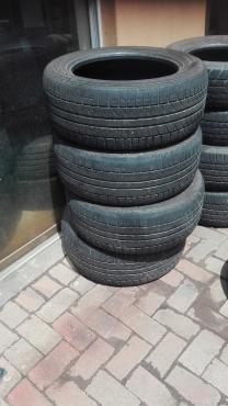 235/55/17 Hankook tyres