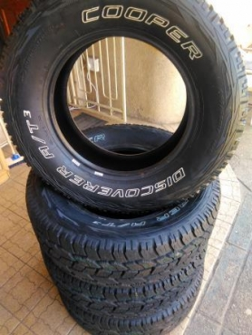New Discovery Cooper 265/65/R17 M + S A/T3 Tyres only R11
