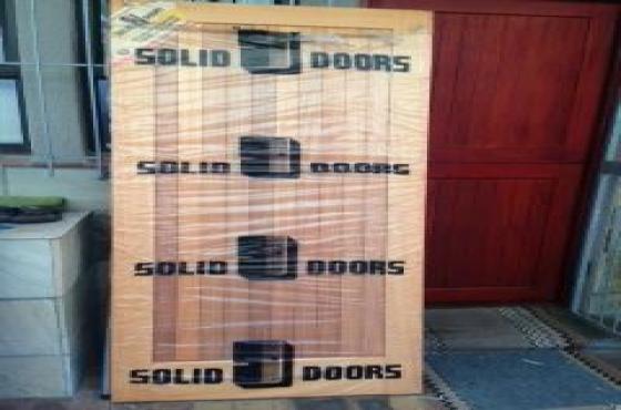 Brand new Solid Wooden Door - Meranti