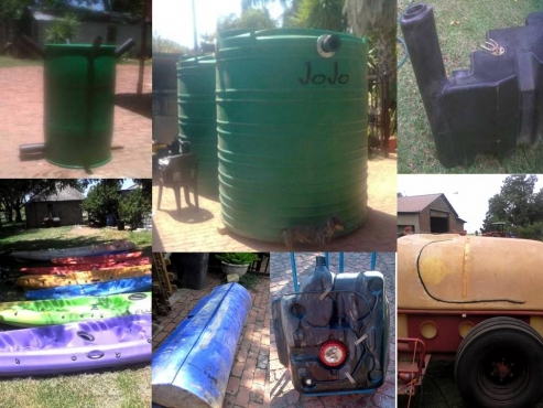 JoJo's all Plastic Water, Fuel Tank etc. Welding, Repair and Installation Services in Pretoria