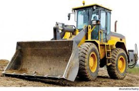 Dump Truck, Grader, Forklift, Excavator & Bulldozer