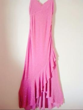 Stunning Glittery pink matric farewell dress