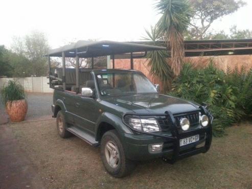 Safari vehicles 4 Africa conversions