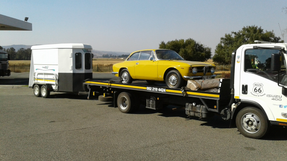 Horse Box & Trailer Transport Durban to Gauteng.
