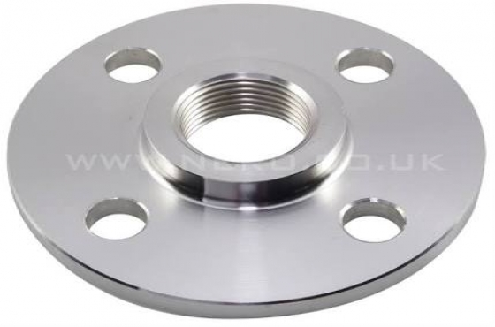 Stainless steel backing , Screwed flanges