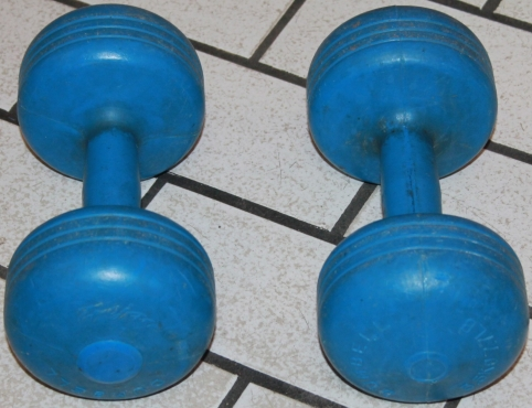 2x 3.5kg dumbells S0