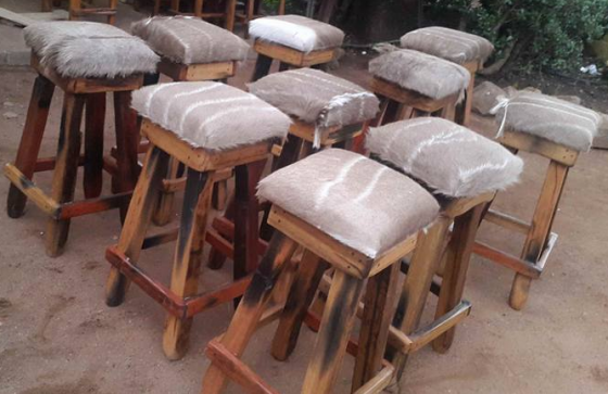 Bar stools, chairs,