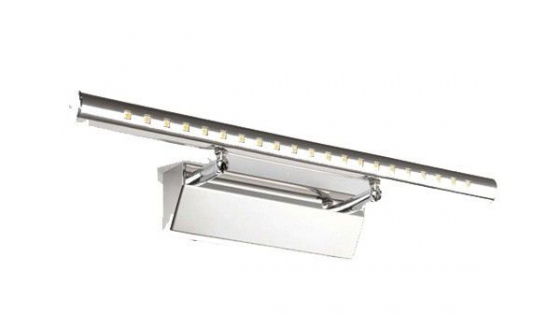40cm Stainless Steel Energy Saver 5W LED Wall Bathroom Mirror Light Front Lamp 6500K