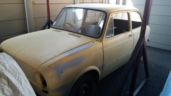 FIAT 850 project car