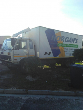 8 ton closed truck for sale