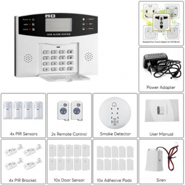 Home GSM Security System- A852