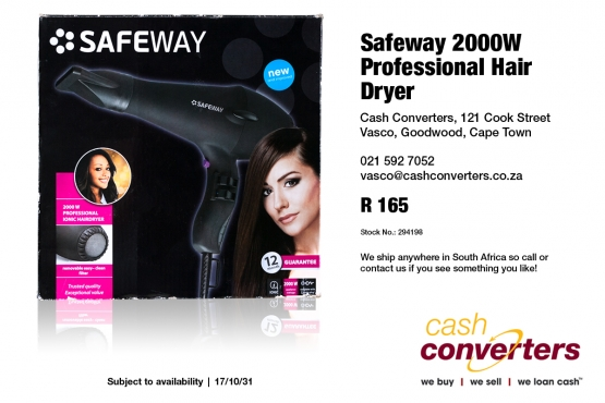 Safeway 2000W Professional Hair Dryer