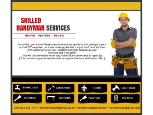 Handyman Services in the Pretoria Area