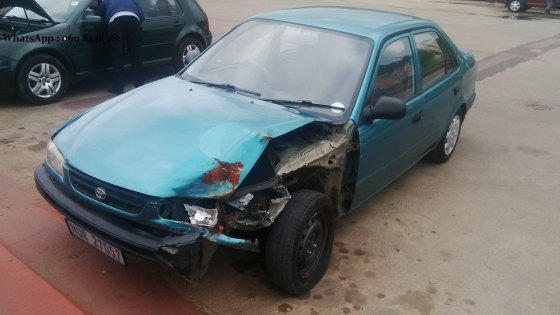 Accident damaged cars and bakkies wanted in Gauteng.