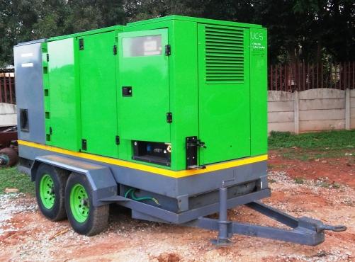 Atlas Copco 325kVA Mobile Generator | Junk Mail