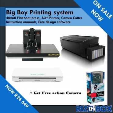 The Big boy printing system - Start you own t shirt and gift printing/branding business from home