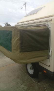 Oryx 4x4 caravan