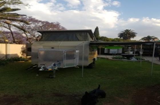 Camping caravan hire