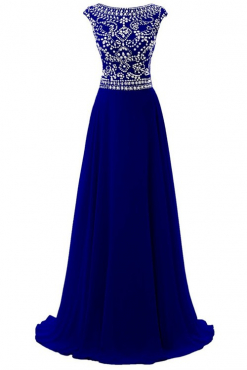 Fabulous Evening Dresses Embellished With Beads And Sequins