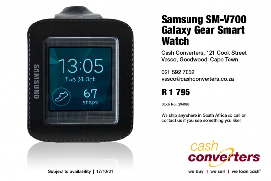 Samsung Sm V700 Galaxy Gear Smart Watch Junk Mail