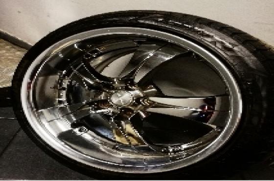 18 inch original work wheels