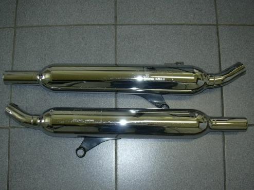 Triumph Bonneville Exhaust boxes | Junk Mail